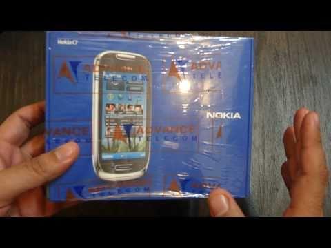 Nokia C7 Unboxing
