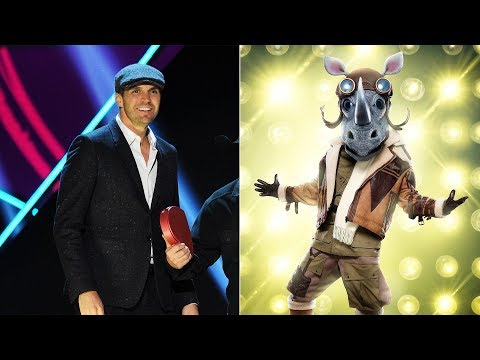 zito-unmasked-as-'rhino'-in-'the-masked-singer'-elimination