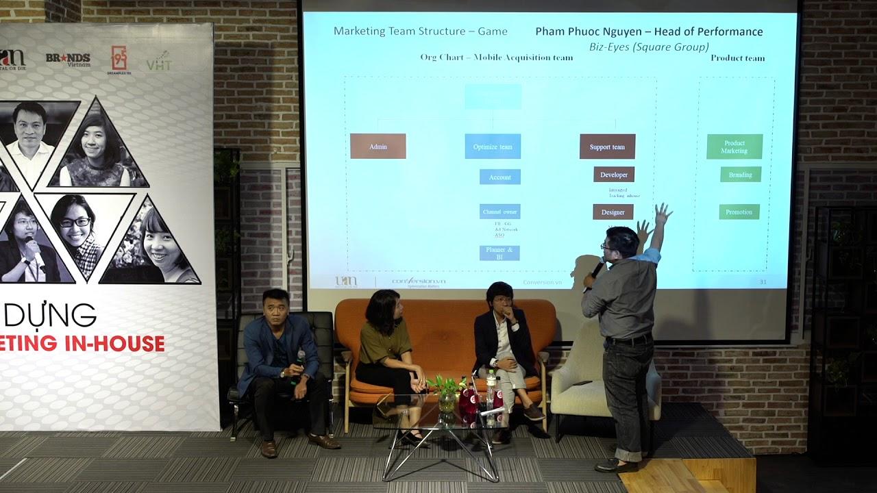 Xây Dựng Team Marketing In-house ngành Game và Bất Động Sản