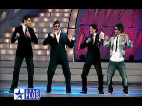 Shahid, Shahrukh, Amitabh, and Abhishek - Auro Dance