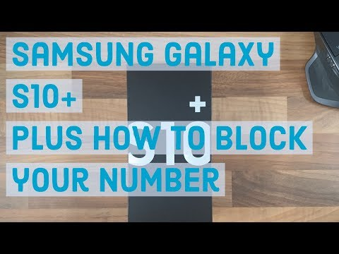 How To Block/hide Your Phone Number/caller ID | Samsung Galaxy S10 Plus