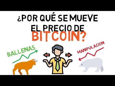 Por Qué El Bitcoin Sube Y Baja De Precio   🤷🏻♂️