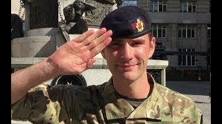 SOLDIER DOES INCREDIBLE MAGIC TRICK!