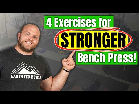Bench Press Accessory Lifts (4 Exercises For STRONGER Bench Press)