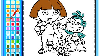 Dora The Explorer Painting Games - Painting Games For Kids
