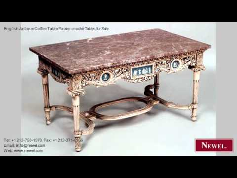 english antique coffee table papiermach tables for sale