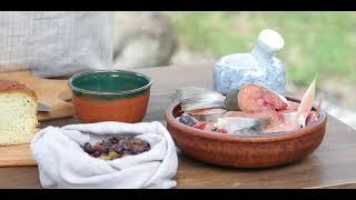 """10 Средневековая кухня Англии. Рыба с изюмным соусом """"Способы приготовления еды"""" 1390"""