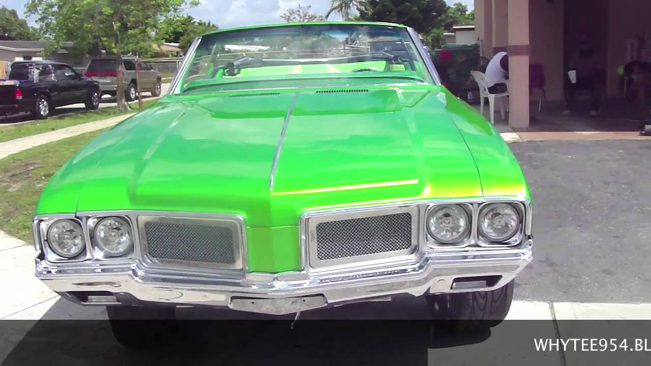 WHAT CAR HAS THE WETTEST SLIME GREEN PAINT? YOU BE THE ...