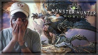 I'M SO READY!! | Monster Hunter: World - Tokyo Game Show 2017 Trailer (LIVE REACTION)