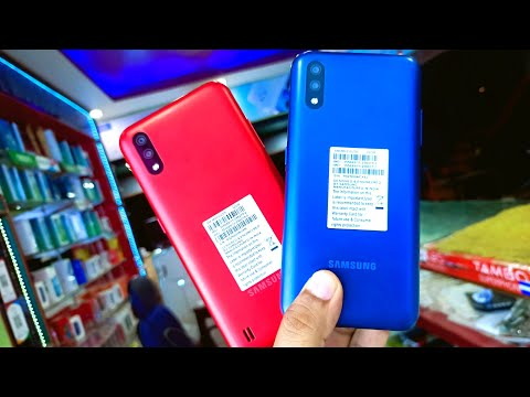 Samsung M01 RED VS BLUE !! #Samsung M01 Red vs Blue Comparison