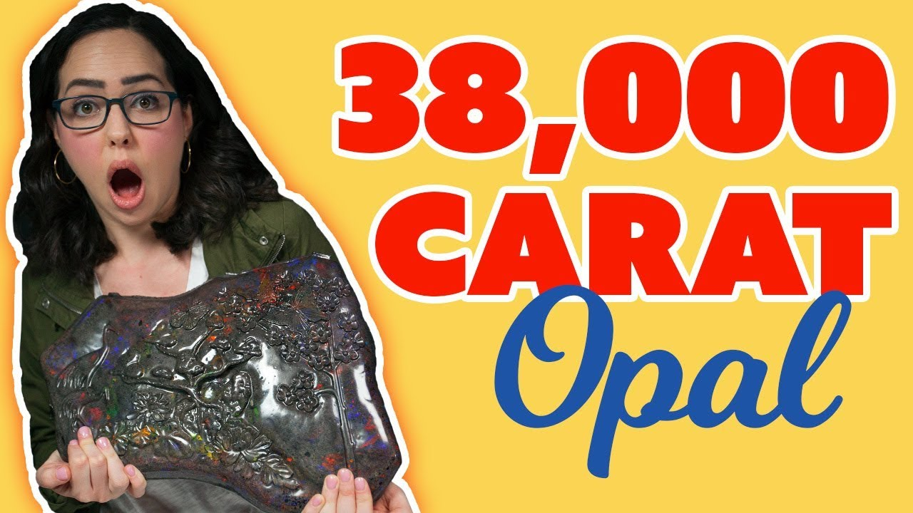 Unboxing a GIANT 38,000 Carat Opal