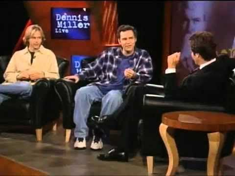 Norm Macdonald and David Spade Busting Each Other Balls