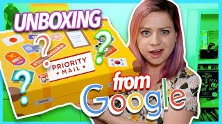 UNBOXING A MYSTERY BOX FROM GOOGLE!