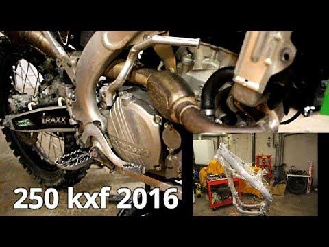 250 Kxf 2016 Demontage Complet Partie1