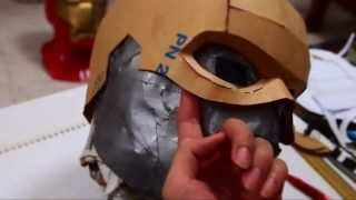 #17: Captain America Cowl Diy 1/3 - Cardboard & Hot Glue (template)