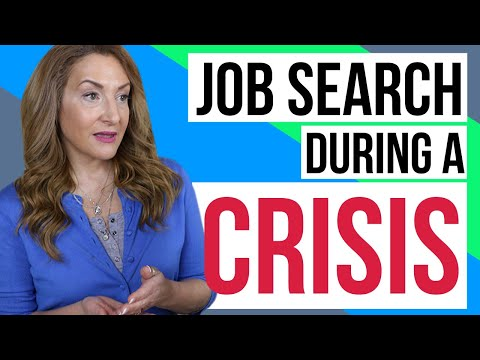 Job Search In Times Of Crisis