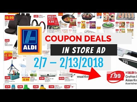Aldi Weekly Ad Deals February 7 - 13, 2018 ~ In Store Ad