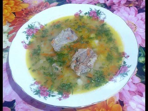 Секреты приготовления очень вкусного гороховога супа с рёбрышками , быстро и легко !!