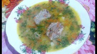 Секреты приготовления очень вкусного горохового супа с рёбрышками , быстро и легко !!