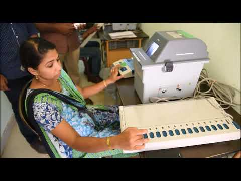 VVPAT - New Voting Machine Demo at Thrissur
