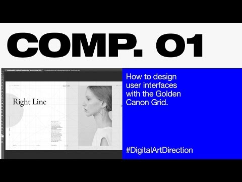 How to design user interfaces with the Golden Canon Grid (NOT GOLDEN RATIO)