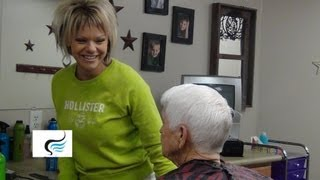 (Short haircuts For Grandmas) with Gray Hairstyles