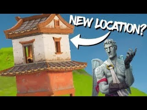 Landing at a Chinese New Year Hut (Fortnite)