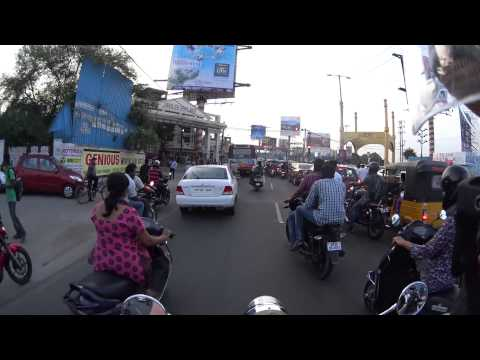 On the streets of India - Hyderabad (24th July 2015)