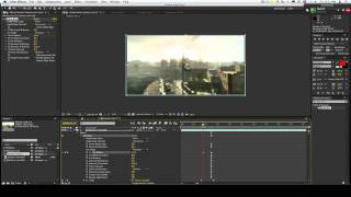 After Effects Tutorial - Realistic Lens Blur Zooming