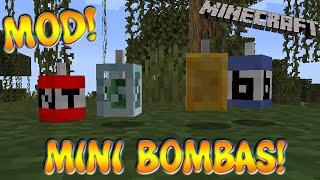 MINI BOMBAS! Minecraft 1.16.5 MOD COMPACT TNT!