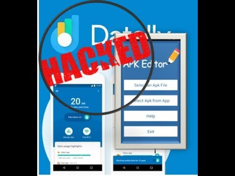 Globe Datally Hack using APK EDITOR