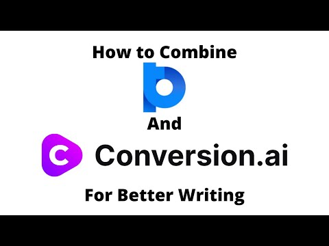 How to Combine Power Thesaurus and Conversion.ai for Better Writing