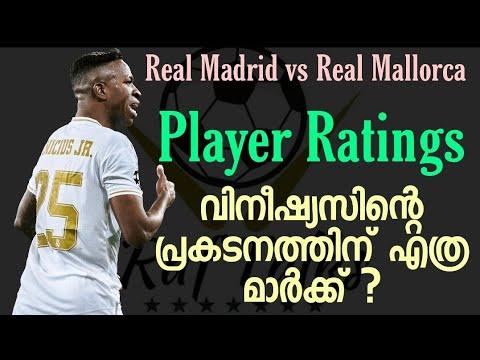 Real Madrid player ratings vs Mallorca