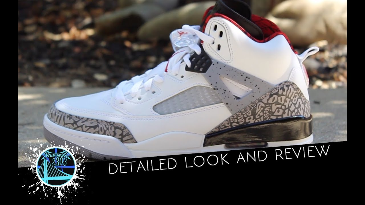 ff342068359f Jordan Spizike White Cement 2017 - YouTube