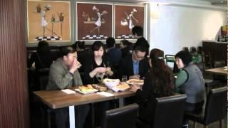 中国福建省宁德市福安市のピザレストラン「バッカナーレ」オープン日から数日間の様子