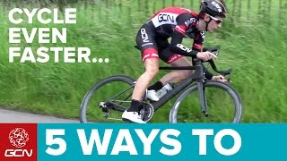 5 Ways To Cycle Faster Without Training More