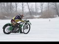 Wolves on Ice - Speedway on ice (HD)-Jawa 500 speedway racing motorcycle on ice