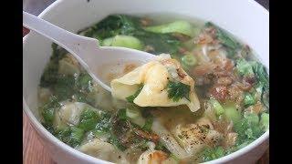 Súp Hoành Thánh - Quick and Easy Wonton Soup