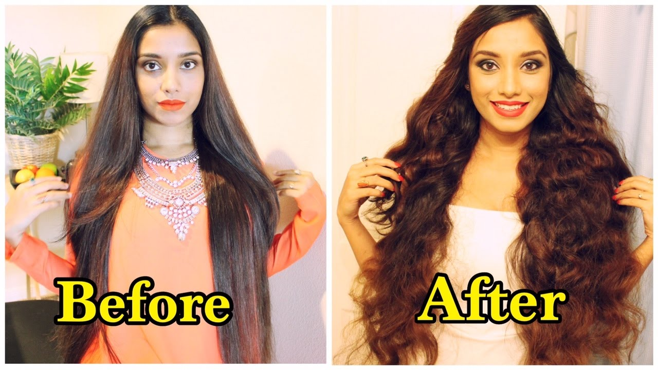 Heat Free Curls For Long Hair