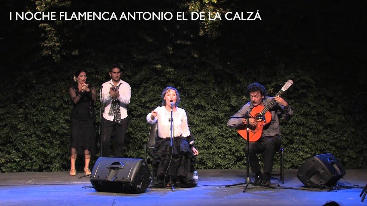 I Noche Flamenca Antonio de la Calzá / Elena Morales