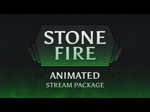 Stone Fire - Twitch Stream Overlay Package