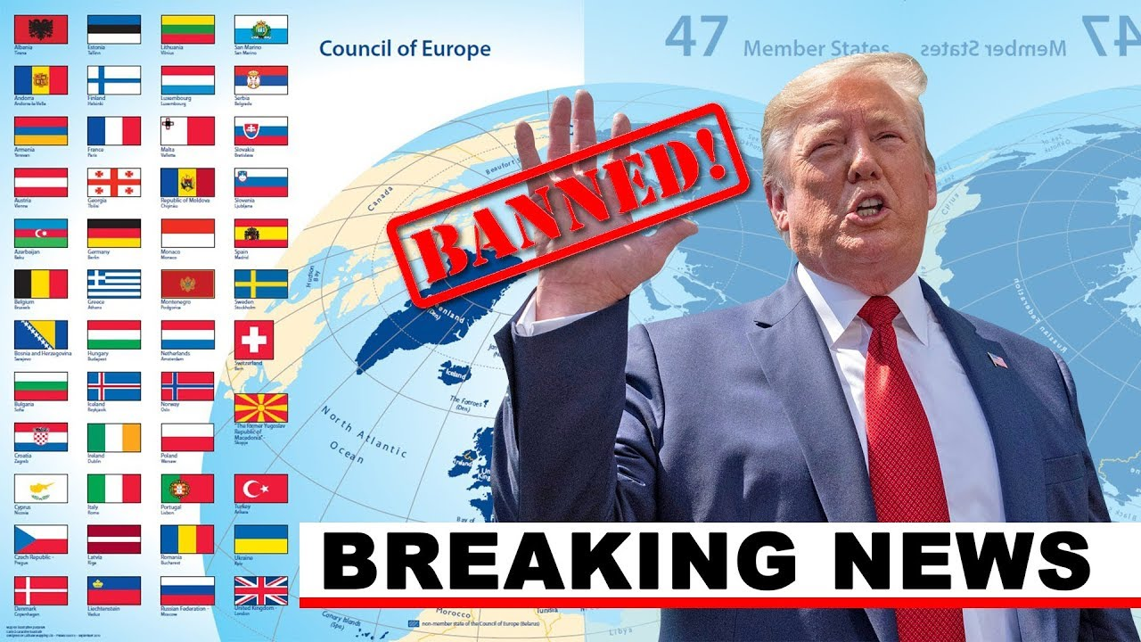 BREAKING NEWS: Trump Suspends All Travel From Europe
