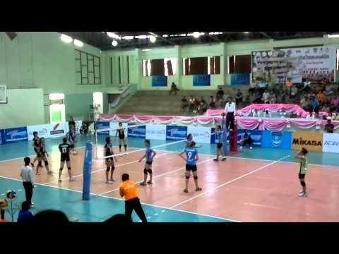 2011 Volleyball Thailand League Women Phuket - Chonburi Leg1 Part4.