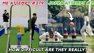 How Difficult are Cricketers Most INSANE VIRAL Challenges | Jofra, Pietersen, Stokes & MORE
