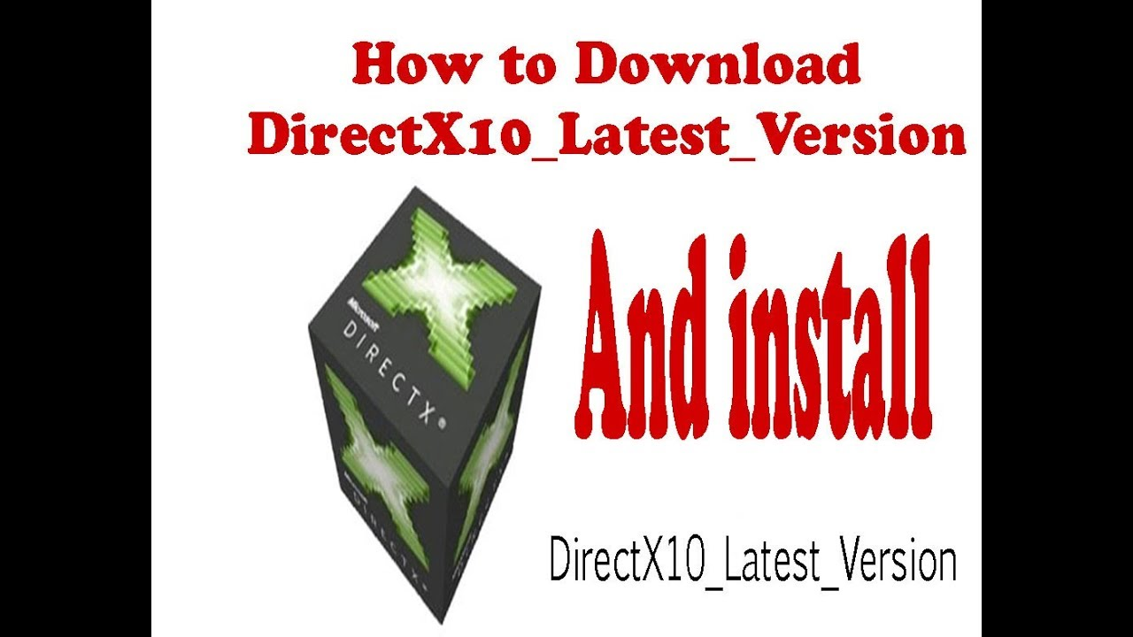 Download directx 10 offline installer for windows 8 1 | Download