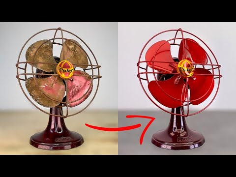 I Restored This Fan and i put it to the Test