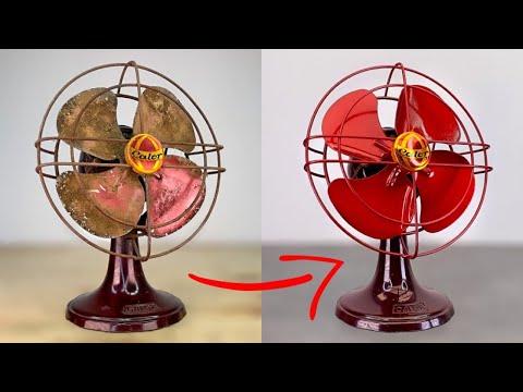 $5 Vintage Fan Calor - Restoration And Testing