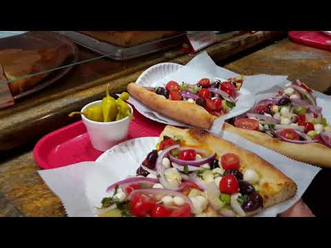 PIZZA TIME- 2nd voted Best Pizza in  USA- St. Augustine Florida & Italian Gelato ICE-CREAM!