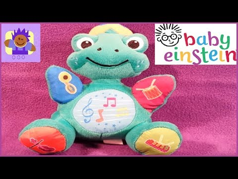 Baby Einstein musical plush turtle Nursery Rhyme learning toy for babies and toddlers