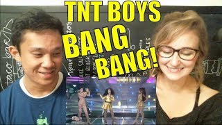 Your Face Sounds Familiar Kids 2018: TNT Boys | Bang Bang REACTION